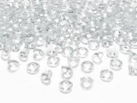 100 Streudeko Diamanten transparent 1,2cm