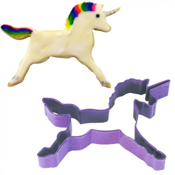 Unicorn cookie cutter 11.4cm