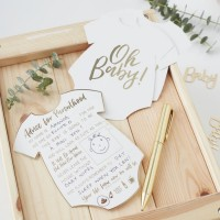 10 Oh Baby Ratschlagkarten für Eltern