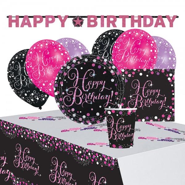 Party Set 41-teilig Sparkling Celebrations Pink