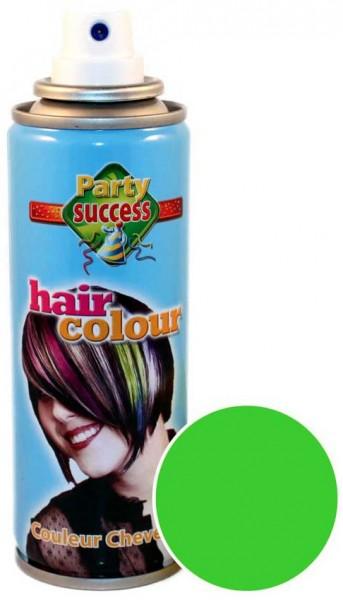 Grünes Color Leucht Haarspray 125ml