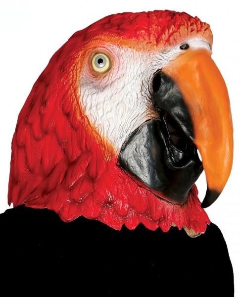Papageien Vollmaske