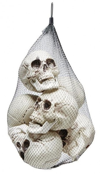 6er Set Totenschädel Zum Aufhängen