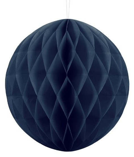 Honeycomb ball Lumina dark blue 30cm