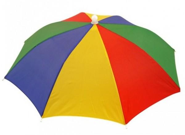 Chapeau parapluie coloré