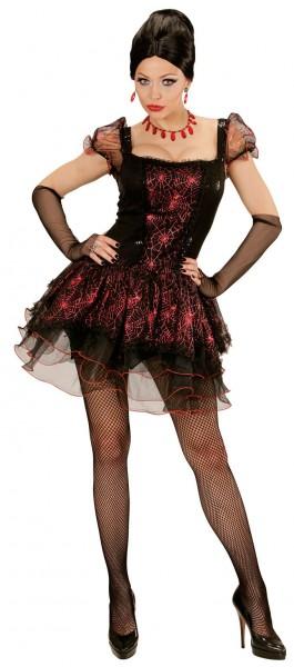 Sexy spider queen Samira dames kostuum