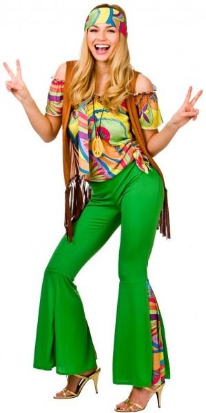 Groovy Retro Hippie Dame 1