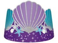 8 Shellebrate Meerjungfrau Kronen