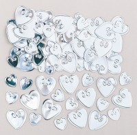 Herz Streudeko Pure Romance silber 14g
