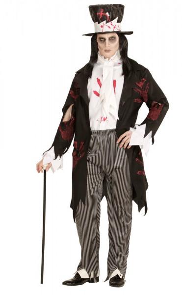 Costume Dracula zombie da uomo