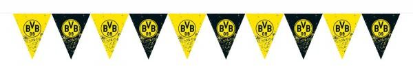 Cadena de banderines BVB Dortmund 4m