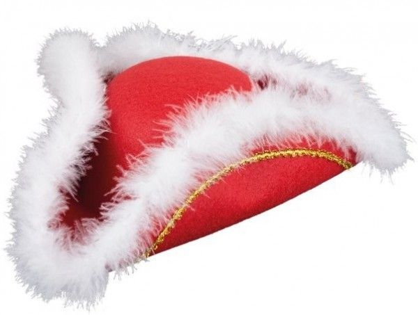 Cappello rosso di carnevale Tanzmariechen