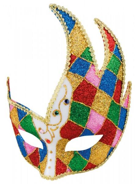 Colorful Venice Jockey eye mask