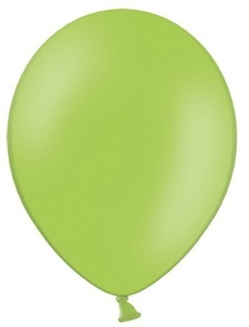 100 party star balloons apple green 27cm
