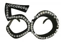 Crazy 50. Geburtstags Brille