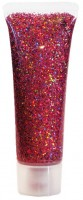 Pinkes Juwel Glitzer Gel