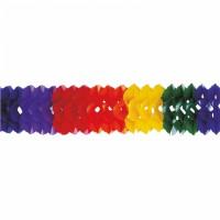 Rainbow Colorful Girlanden 16cm x 10m
