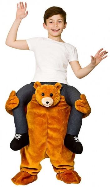 Huckepack Teddy Kostüm 1
