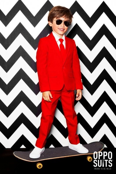 OppoSuits Partyanzug Red Devil