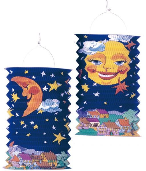 Linda linterna de luna Night Sky 28cm