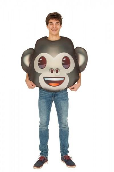 Affen Emoji Kostüm Unisex