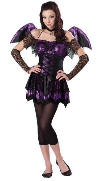Fledermaus Kostüm Lilac für Teenager