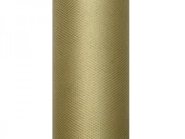 Tüll-Tischläufer Karamell 9 m x 50 cm 1