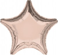 Sternballon roségold 45cm