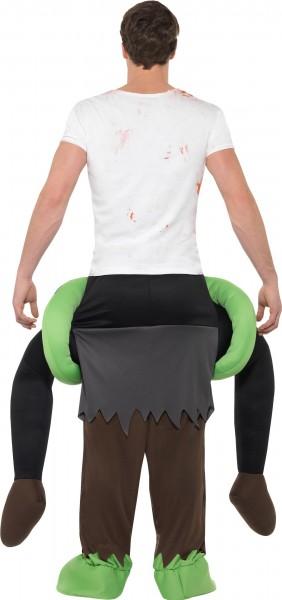 Bloody zombie piggyback costume