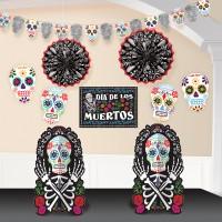 Dia de los Muertos Deko Set 10-teilig
