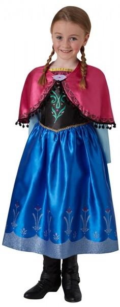 Shining Anna Elsa Frozen kostuum voor kinderen
