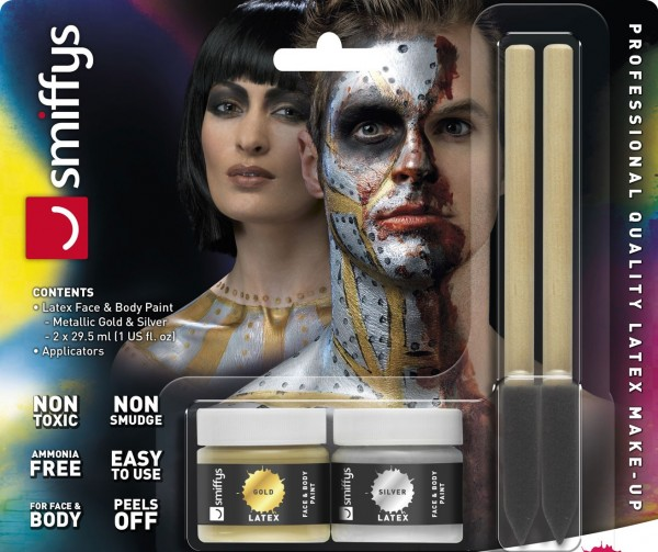 Flüssiges Metallic Latex Make Up