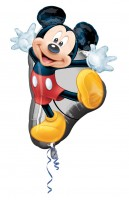Folienballon Happy Mickey