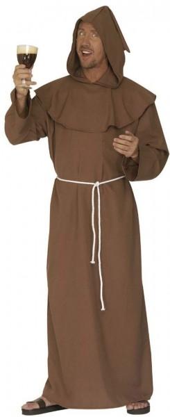 Braune Mönch Robe