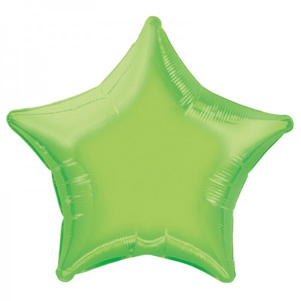 Folieballon Rising Star groen