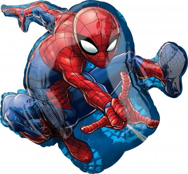 Figurine Spider-Man ballon aluminium