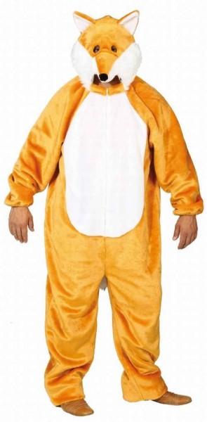 Geel vos kostuum unisex