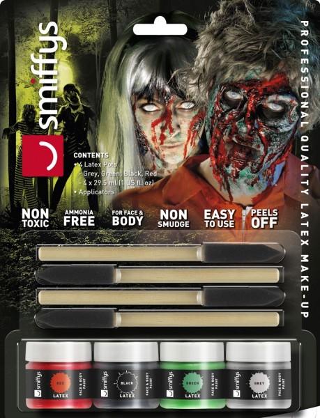 Zombie Flüssig Latex Set