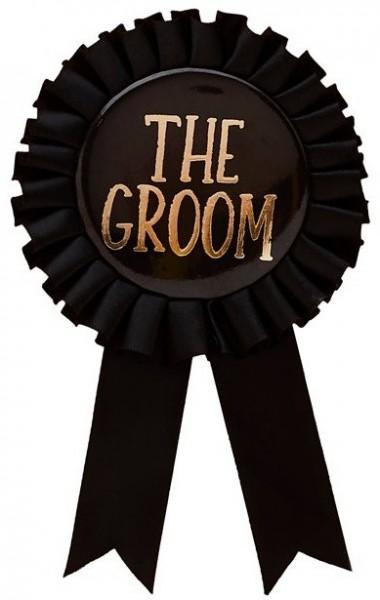 Negro el botón Grom
