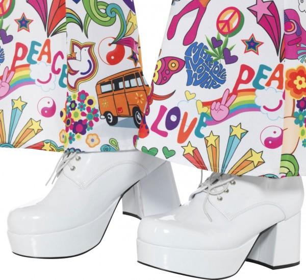 Herren Plateau Schuhe im 70er Jahre Style