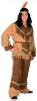 Friedensvogel Indianer Fransenkostüm
