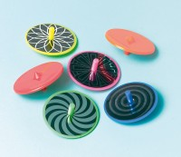 Kleine Hypnotisierende Kreisel Party Set 12 Stück