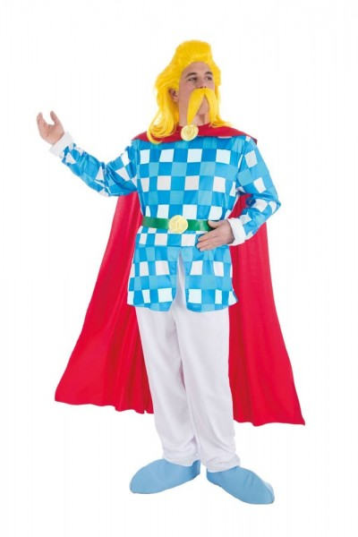 Troubadix Kostüm Deluxe mit Bart