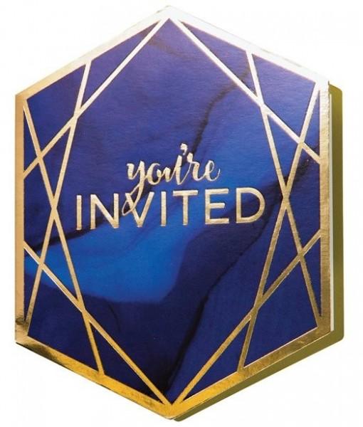 6 Luxurious Party Einladungskarten