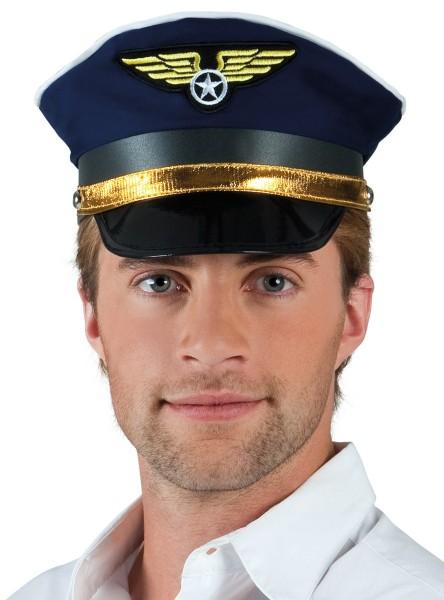 Pilot Igor Kapitänsmütze