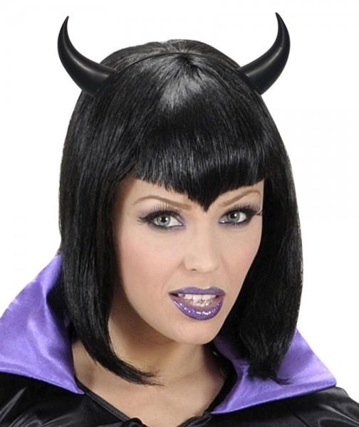 Teufelshörner Zenda Schwarz