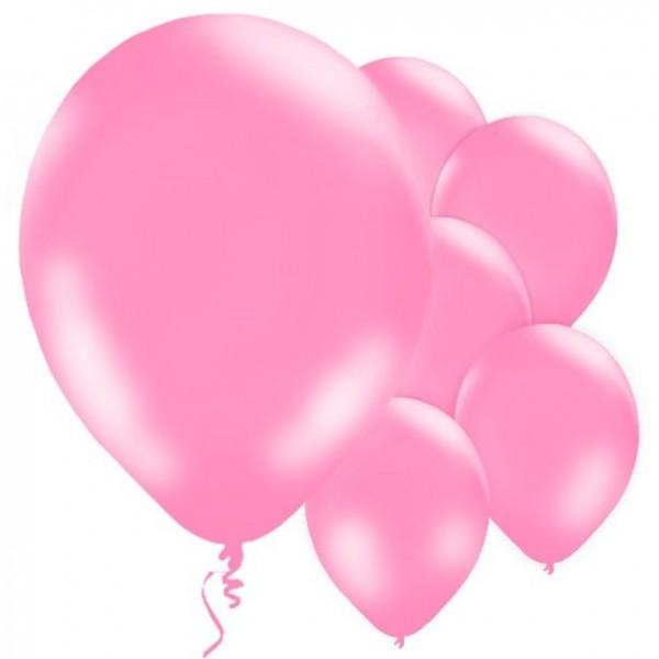 10 palloncini rosa Jive 28cm
