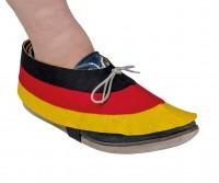 2 Deutschland Fan Schuh Dekorationen