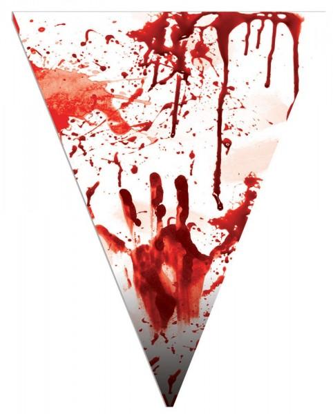 Massaker Party Wimpelkette 5m