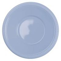 10 Kunststoff-Schüsseln pastellblau 355ml